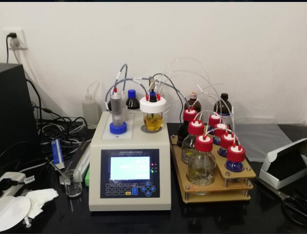 成都普康生物购买我公司S-300全自动卡尔费休水分测定仪用于研发