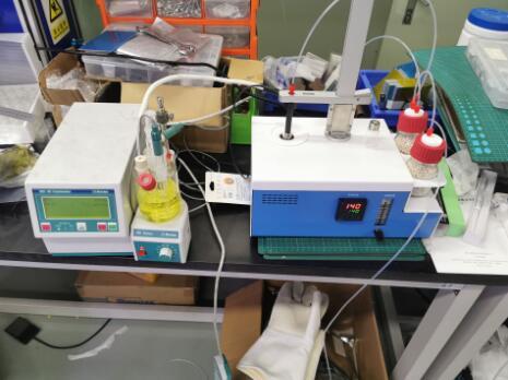 清华珠三角铝离子电池研发中心选购KHF-100卡氏加热炉