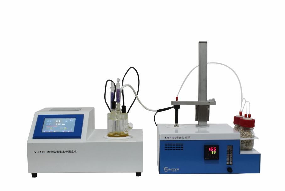利用V310S-KHF卡氏加热炉水分测定仪检测钛酸锂中的水分含量